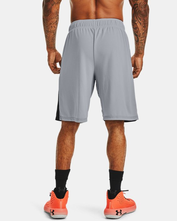"Men's UA Baseline 10"" Shorts, Gray, pdpMainDesktop image number 1"