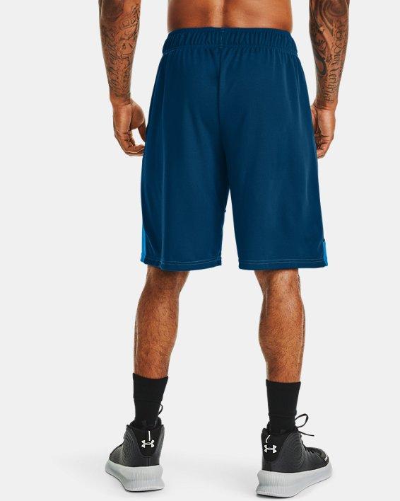 """Men's UA Baseline 10"""" Shorts, Blue, pdpMainDesktop image number 1"""