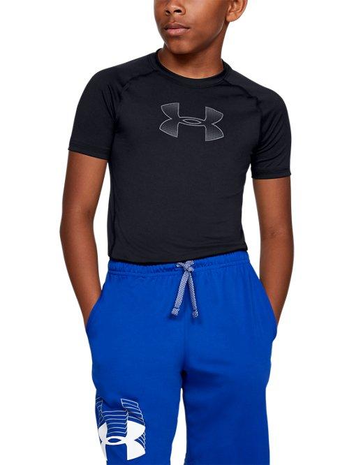 da948ab436 Boys' HeatGear® Armour Short Sleeve