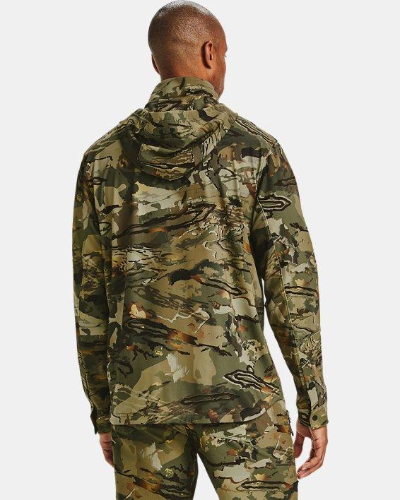 Men's UA Backwoods Hybrid Jacket, Camo, pdpMainDesktop image number 2