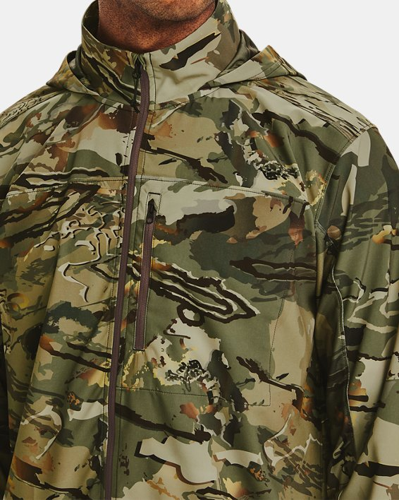 Men's UA Backwoods Hybrid Jacket, Camo, pdpMainDesktop image number 5