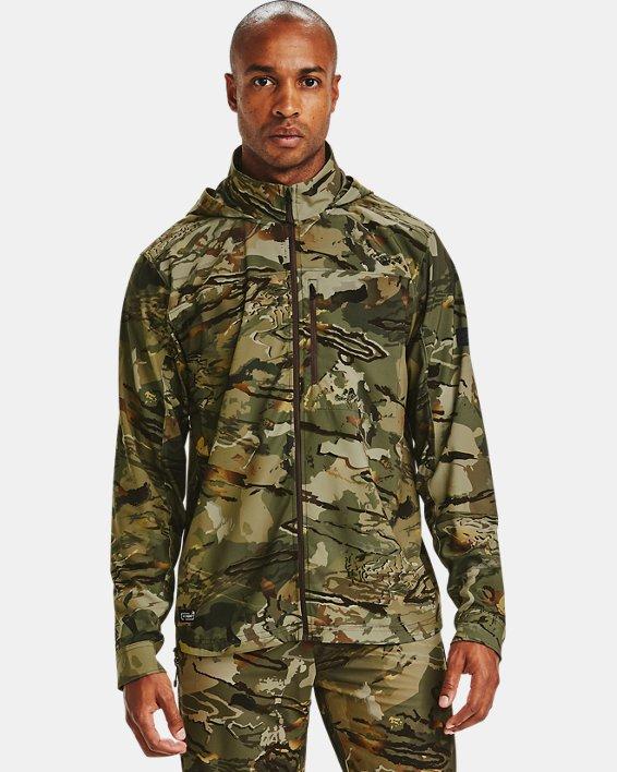 Men's UA Backwoods Hybrid Jacket, Camo, pdpMainDesktop image number 1