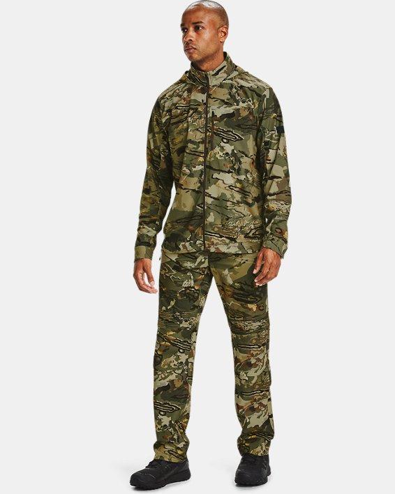 Men's UA Backwoods Hybrid Jacket, Camo, pdpMainDesktop image number 0