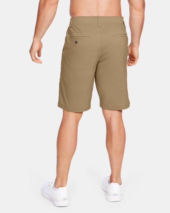 Men's UA Showdown Coach's Shorts, Brown, pdpMainDesktop image number 2