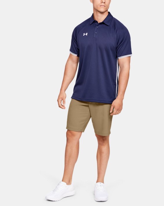 Men's UA Showdown Coach's Shorts, Brown, pdpMainDesktop image number 1