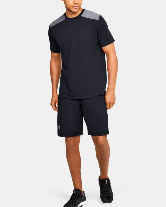Men's UA Sportstyle Stadium Short Sleeve T-Shirt, Black, pdpMainDesktop image number 1