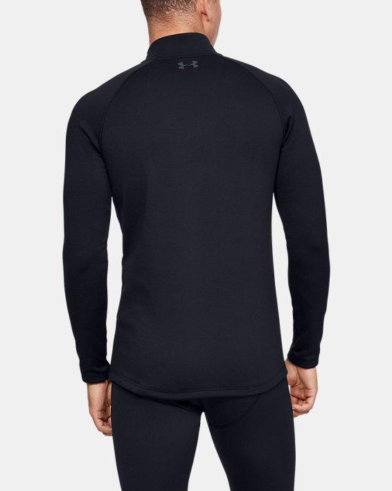 Haut ColdGear® Base 4.0 ¼Zip pour homme, Black, pdpMainDesktop image number 2