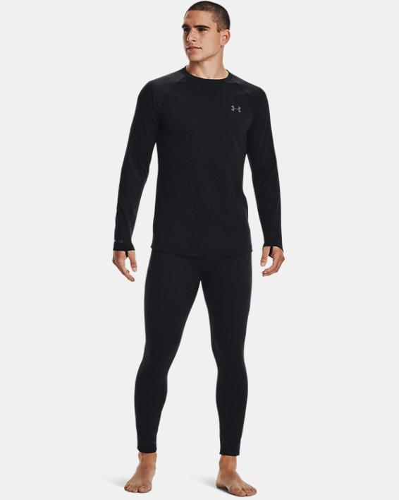 Men's ColdGear® Base 4.0 Leggings, Black, pdpMainDesktop image number 1