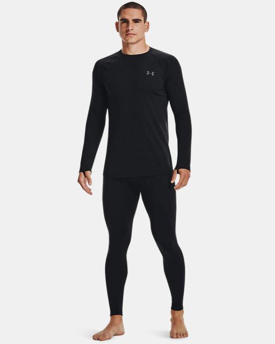 Men's ColdGear® Base 3.0 Leggings, Black, pdpMainDesktop image number 1