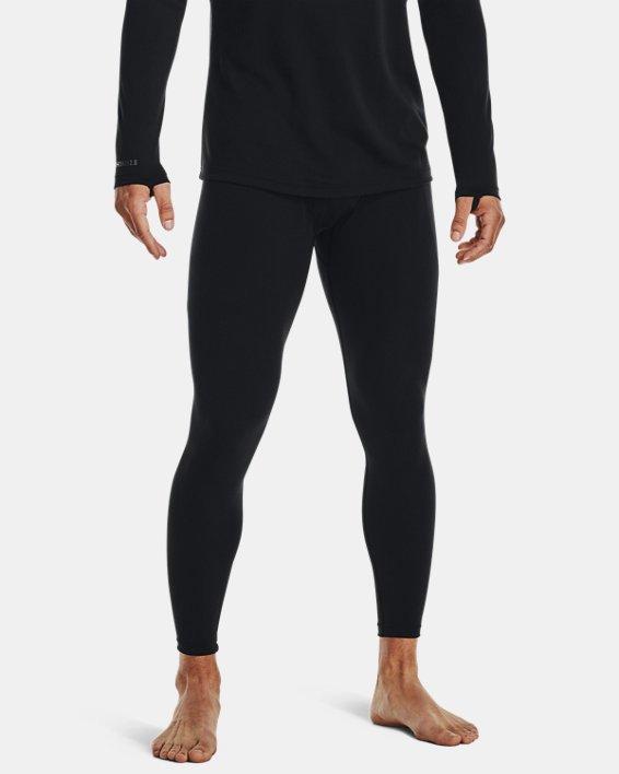 Men's ColdGear® Base 2.0 Leggings, Black, pdpMainDesktop image number 0
