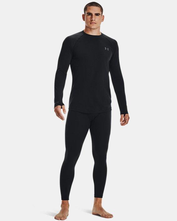 Men's ColdGear® Base 2.0 Leggings, Black, pdpMainDesktop image number 3