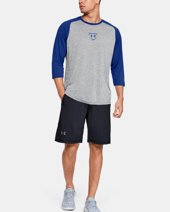 M IL Utility 3/4 Shirt, Gray, pdpMainDesktop image number 1