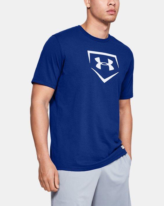 Men's UA Plate Graphic T-Shirt, Blue, pdpMainDesktop image number 1