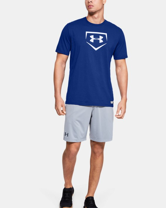 Men's UA Plate Graphic T-Shirt, Blue, pdpMainDesktop image number 0