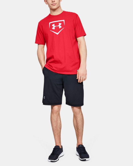 Men's UA Plate Graphic T-Shirt, Red, pdpMainDesktop image number 0