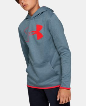 32084f64a New Arrival Boys' Armour Fleece® Branded Hoodie 7 Colors Available $40