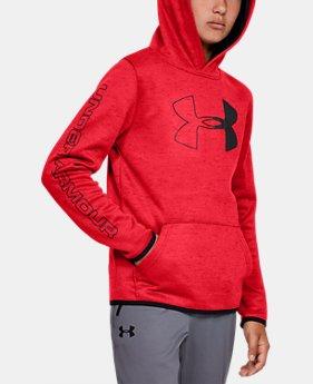 36dfbc84a New Arrival Boys' Armour Fleece® Branded Hoodie 6 Colors Available $50