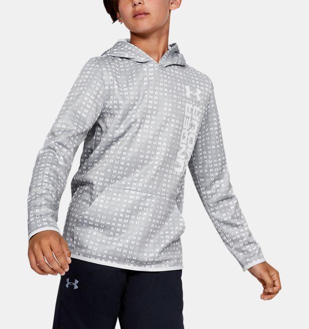 Boys' Armour Fleece® Novelty Hoodie