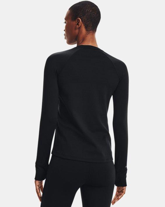 Haut à col ras du cou ColdGear® Base 3.0 pour femme, Black, pdpMainDesktop image number 2