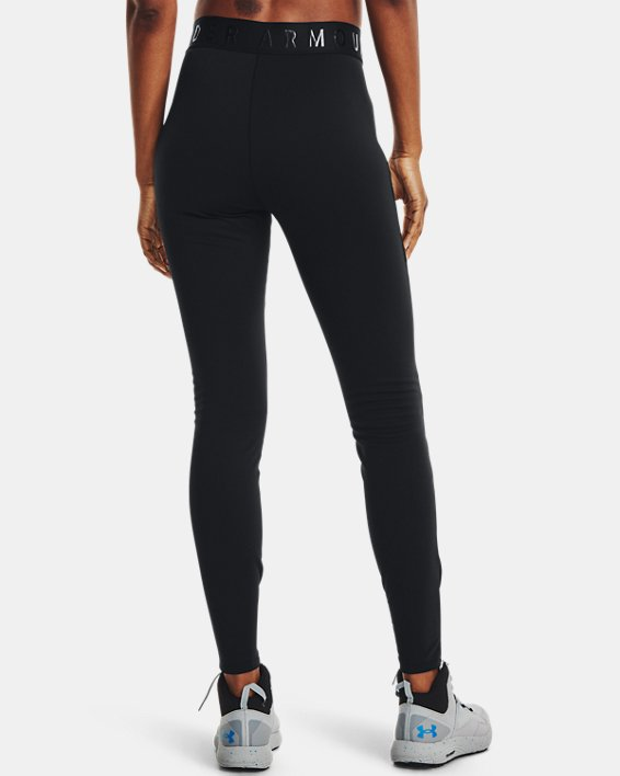 Women's ColdGear® Base 4.0 Leggings, Black, pdpMainDesktop image number 2