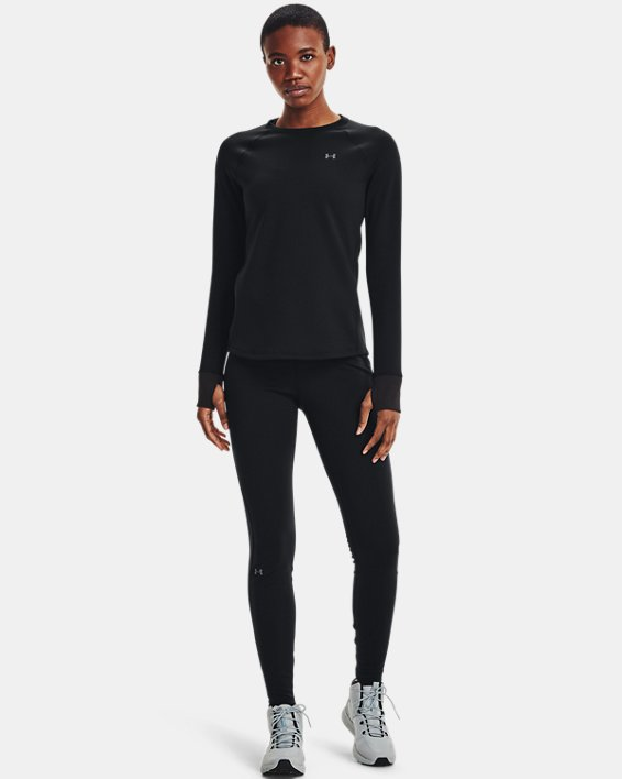 Women's ColdGear® Base 4.0 Leggings, Black, pdpMainDesktop image number 3