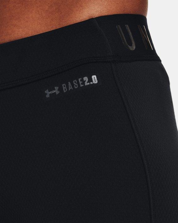 Damen ColdGear® Base2.0 Leggings, Black, pdpMainDesktop image number 4