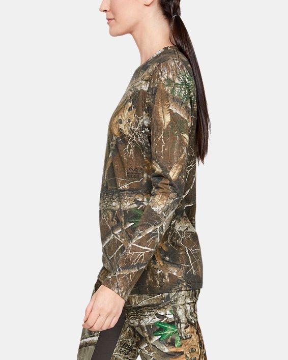 Women's UA Scent Control Camo Long Sleeve T-Shirt, Misc/Assorted, pdpMainDesktop image number 3