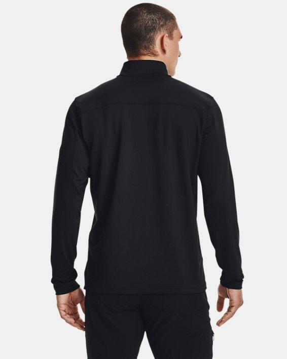 UA LW ¼ Zip pour hommes, Black, pdpMainDesktop image number 2