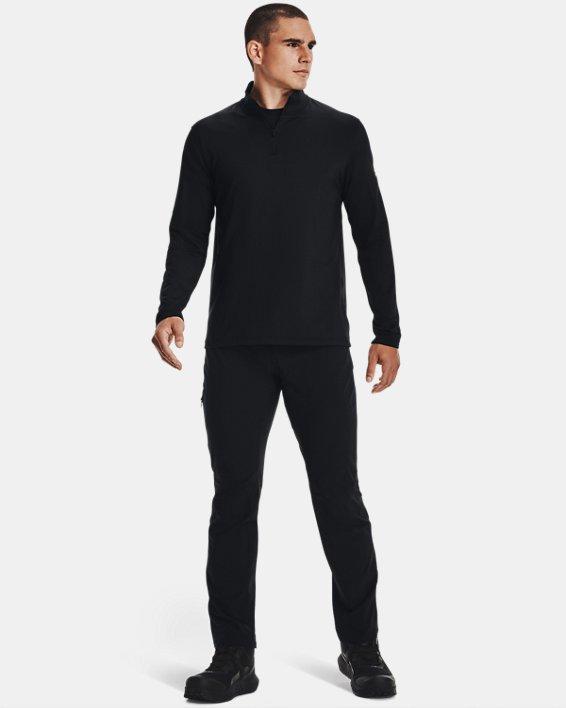 UA LW ¼ Zip pour hommes, Black, pdpMainDesktop image number 1
