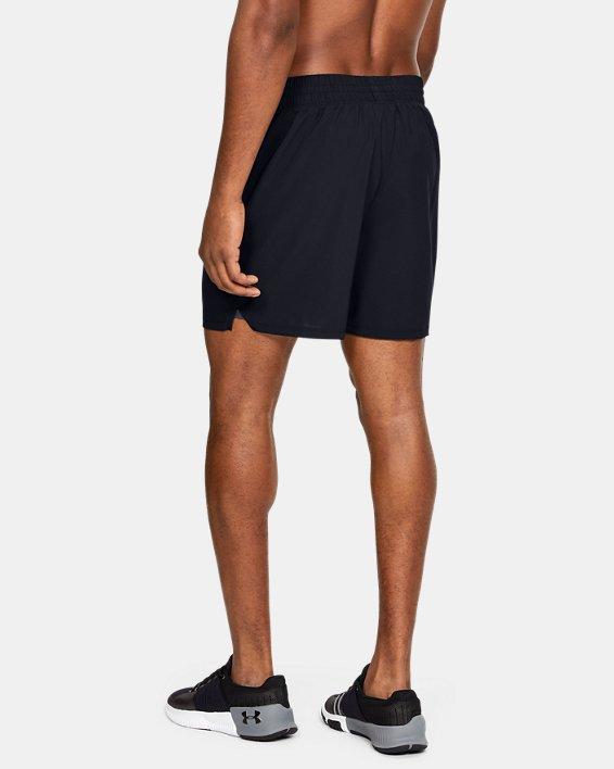 Men's UA Tactical PT Shorts, Black, pdpMainDesktop image number 2