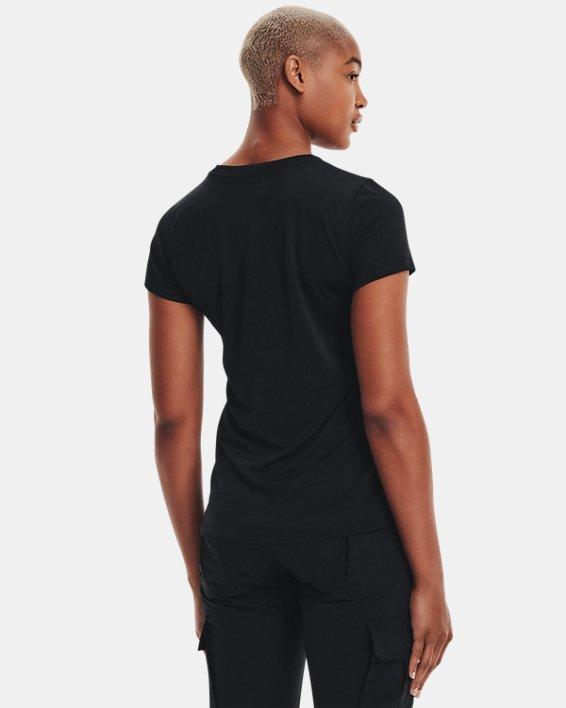 Women's UA Tactical Tech™ Short Sleeve, Black, pdpMainDesktop image number 2