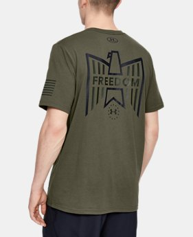 768c1fc0 New Arrival Men's UA Freedom Eagle T-Shirt 3 Colors Available $25