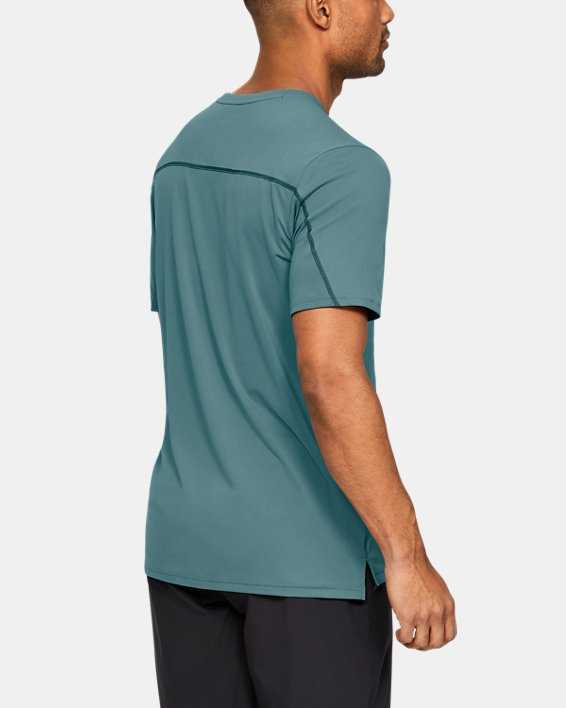 Men's UA Iso-Chill Fusion Short Sleeve, Blue, pdpMainDesktop image number 2