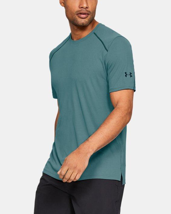 Men's UA Iso-Chill Fusion Short Sleeve, Blue, pdpMainDesktop image number 0