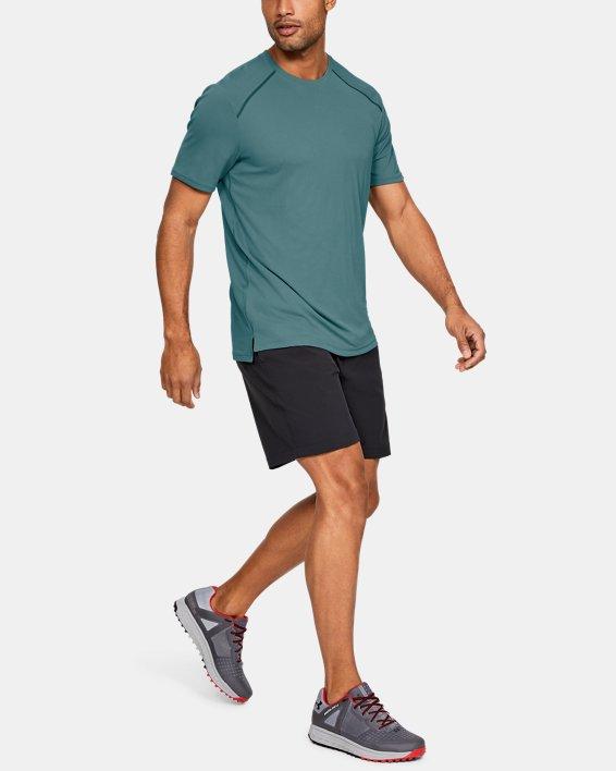 Men's UA Iso-Chill Fusion Short Sleeve, Blue, pdpMainDesktop image number 1