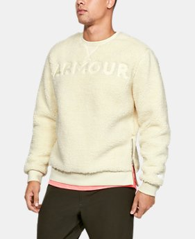 Men's UA Be Seen Sherpa Crew LIMITED TIME ONLY 1  Color Available $70
