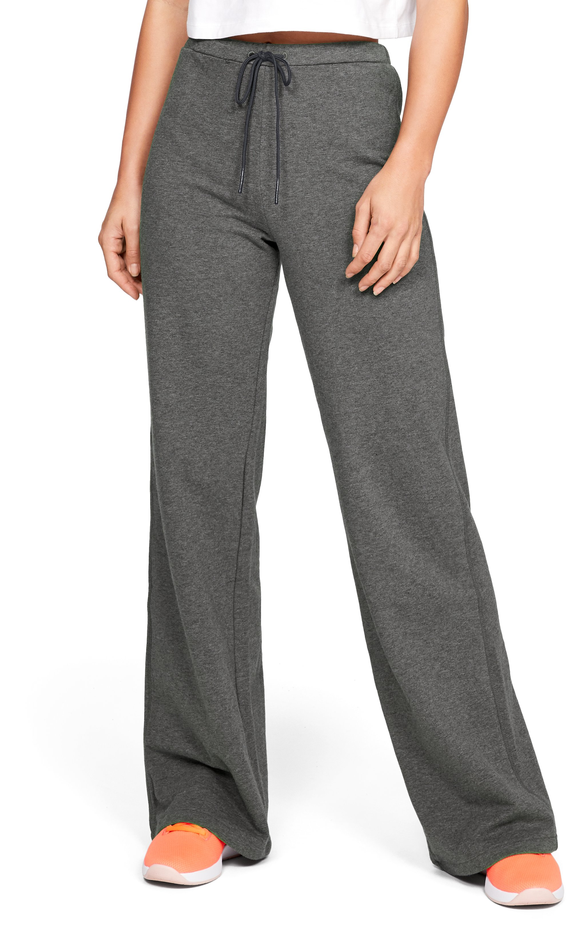 Women's UA Be Seen Terry Wide Leg Pants 2 Colors $65.00