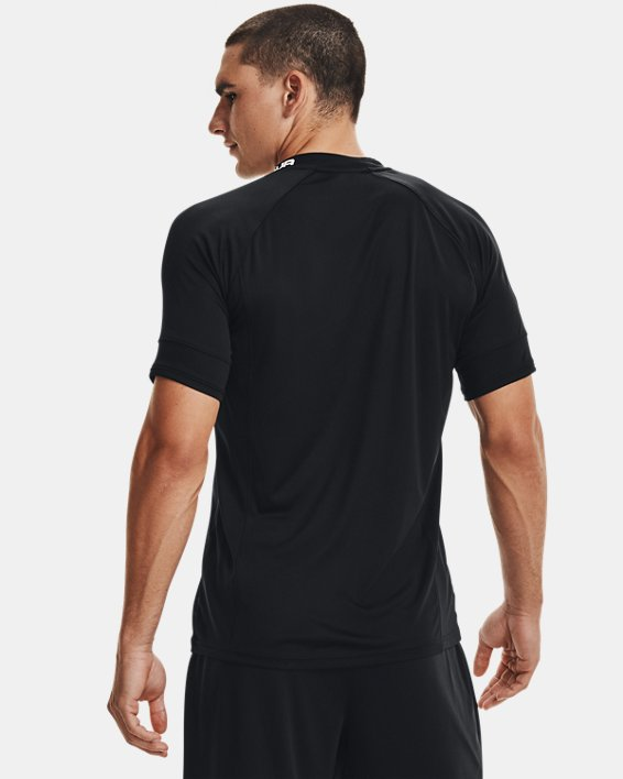 Men's UA Challenger III Training Short Sleeve, Black, pdpMainDesktop image number 3