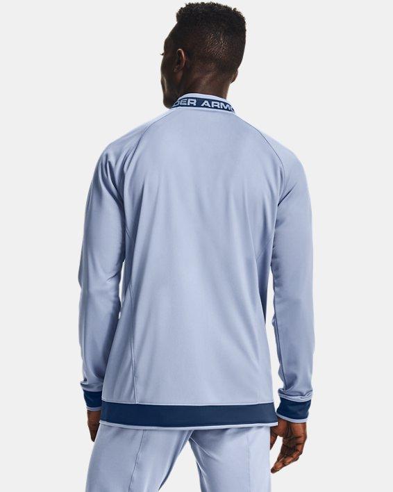 Men's UA Challenger III Jacket, Blue, pdpMainDesktop image number 2