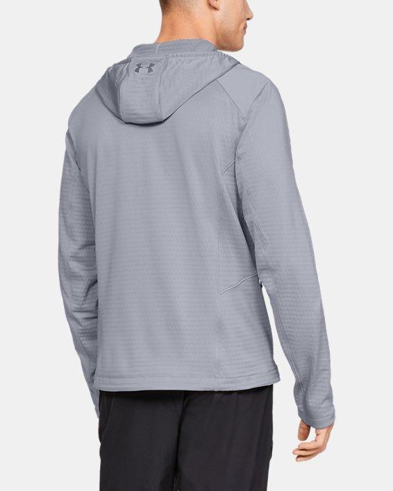 Men's ColdGear® Reactor Exert Jacket, Gray, pdpMainDesktop image number 2