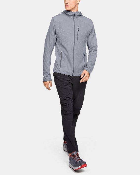 Men's ColdGear® Reactor Exert Jacket, Gray, pdpMainDesktop image number 1
