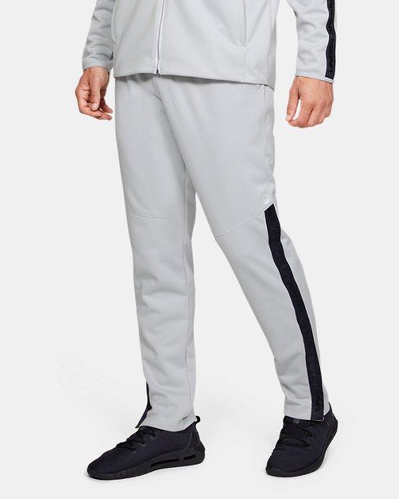 Men's UA RECOVER™ Knit Warm-Up Pants, Gray, pdpMainDesktop image number 0