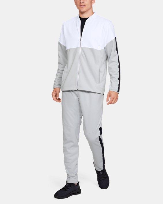 Men's UA RECOVER™ Knit Warm-Up Pants, Gray, pdpMainDesktop image number 1