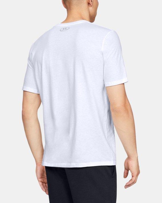 Men's UA Ascend Short Sleeve, White, pdpMainDesktop image number 2