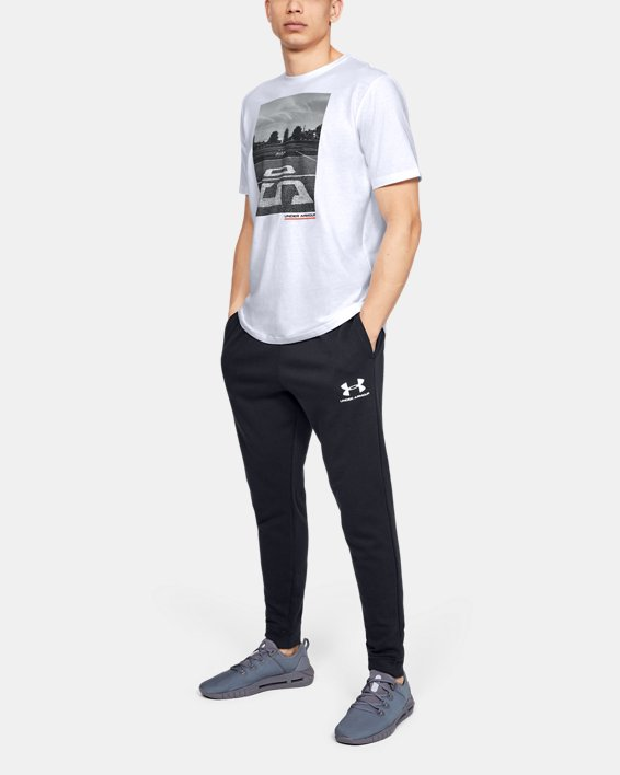 Men's UA Ascend Short Sleeve, White, pdpMainDesktop image number 0