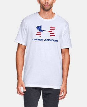 New Arrival Men's UA Sportstyle Flag Fill Short Sleeve  2  Colors Available $25