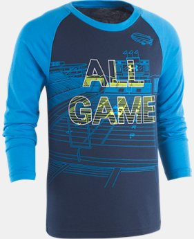 New Arrival Boys' Toddler UA All Game Long Sleeve Shirt  1  Color Available $23