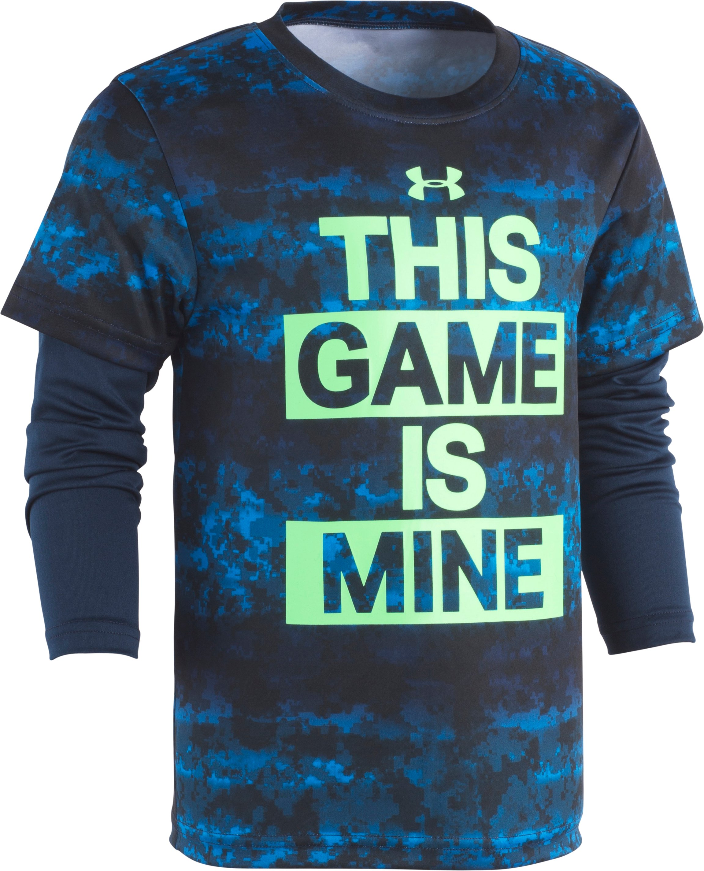 Boys' Pre-School UA This Game Is Mine Slider 1 Color $30.00
