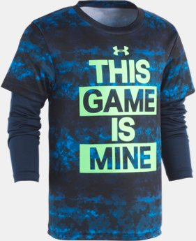 Boys' Pre-School UA This Game Is Mine Slider  1  Color Available $30