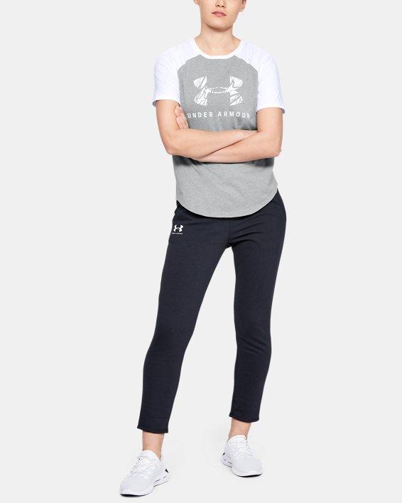Women's UA Fit Kit Baseball T-Shirt, Gray, pdpMainDesktop image number 1